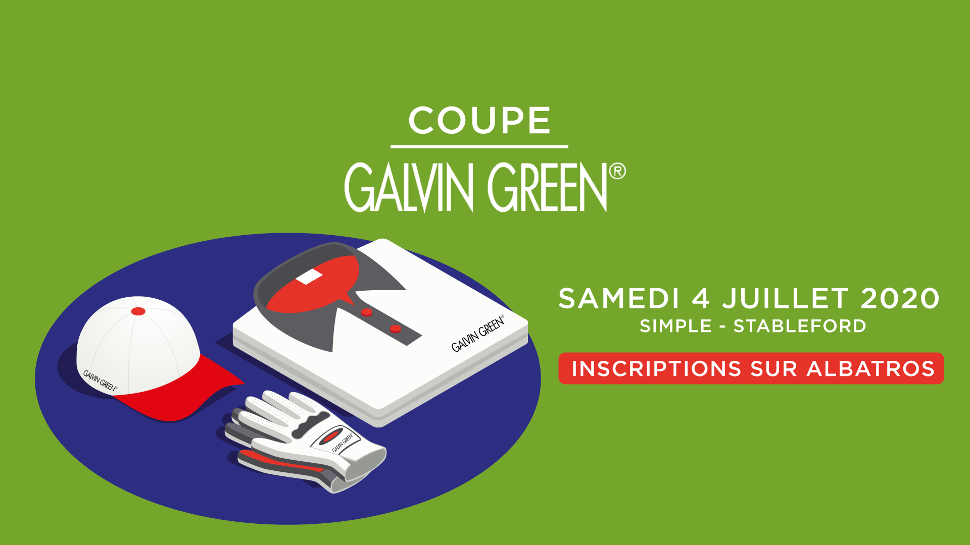 COUPE GALVIN GREEN