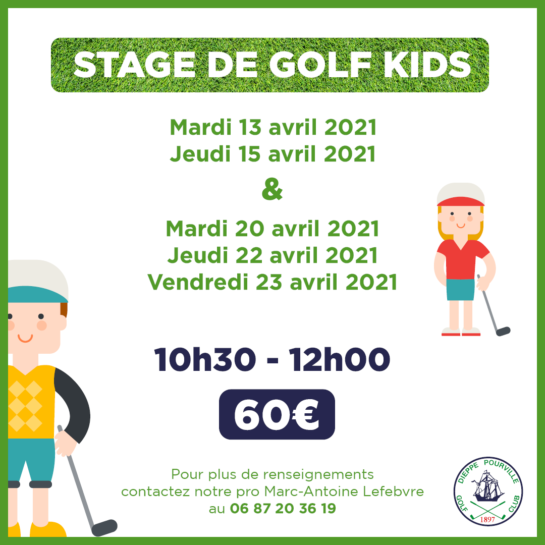 Stages kids avril 2021